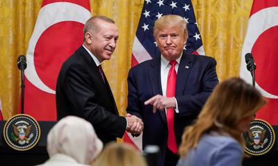 川普與土耳其總統通電話 討論「敘利亞、利比亞」情勢