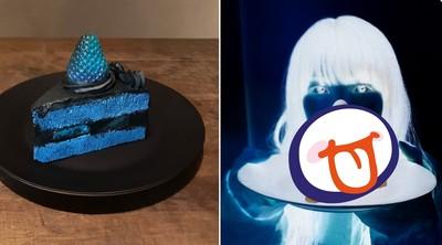 沒有濾鏡!日神人自製青黑色蛋糕 「翻轉照片顏色」真相驚呆27萬人
