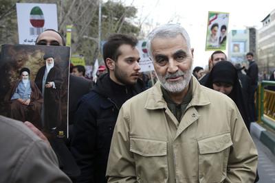 無可取代的潛在領導人 蘇萊曼尼外號「伊朗間諜王」