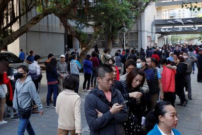 路透:蔡英文票數暫居領先 北京密切關注!