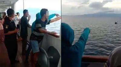 「3船員疑似感染病毒」255人被禁止下船 乘客恐慌到直接跳海!