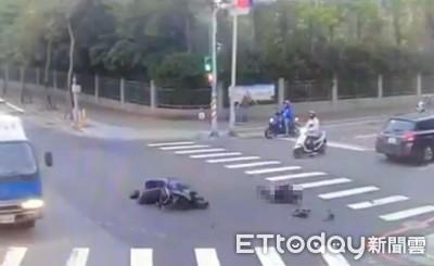 騎士撞斷大腿「昏迷2天」未移機車 醒來秒吃罰單超傻眼