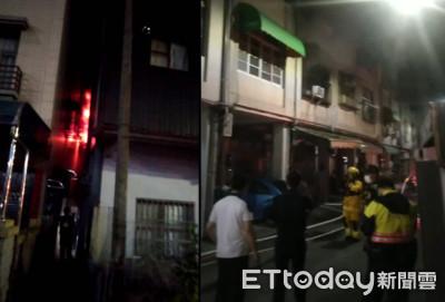 快訊/高雄民宅大火!6消防分隊出動…1女身上3度燒燙傷