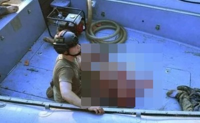 奇蹟生還!男遭炸飛「海漂30小時」獲救 全身重傷鮮血狂流