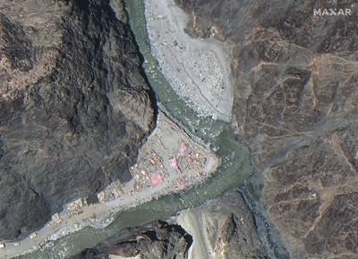沿印度邊界狂蓋! 報告:中國空軍設施數量近3年「翻倍成長」